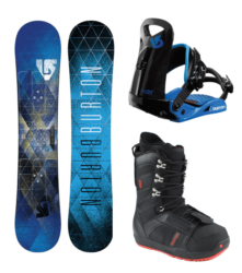 Burton LTR Board,Boots,Bindings $65/$10 extra days
